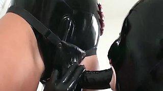 jock hotty in latex