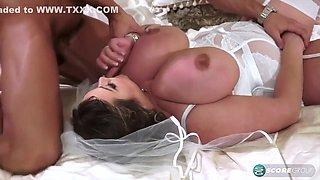 Hot Chubby Bride Nila Mason Hard Sex Video