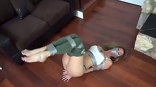 Gorgeous Miranda is Kidnapped Hogtied and Fucked by Ex