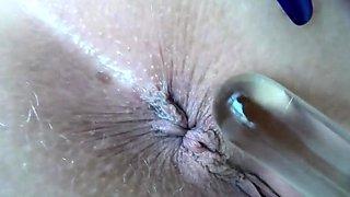 Homemade amateur closeup pov cumshot