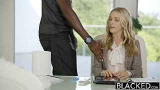 BLACKED Perfect Blonde With Karla Kush 2 ### Black Cocks