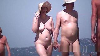 Hipster nudist milfs beach voyeur spycam