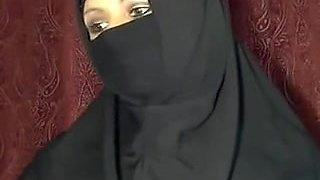 adorable Muslim housewife