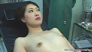 Cosplay Porn: Asians Nurses Cosplay Japanese MILF Nurse Fucked Doctors Office part 3