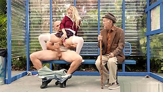 Sex On Bus Stop