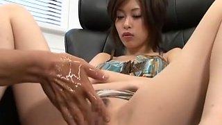 Horny Japanese slut in Amazing Fingering, Dildos/Toys JAV movie