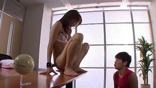 Incredible Japanese model in Exotic Handjobs, Secretary JAV clip