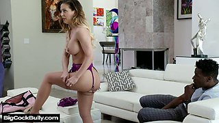 Massive aggressive dick is everything lustful white chick Cherie Deville desires every day