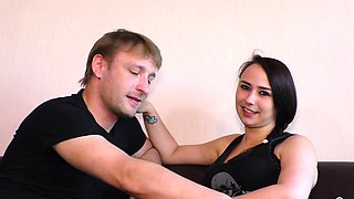 SEXTAPE GERMANY - First time porn with tattooed German slut