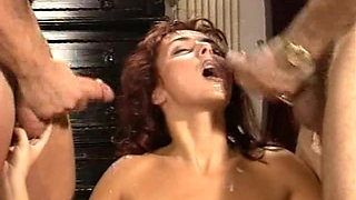Classic DP with redhead Kathy