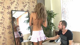 Dazzling homemade fuck with the step dad