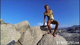 Russian babe Katya Skaredina of Sakhalin Island