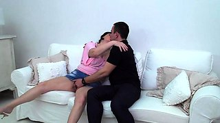 Kinky mature lady doing her toyboy