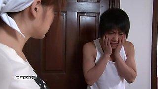 Airu Oshima ( Kitajima An) - Obedient Maid With Colossal Tits