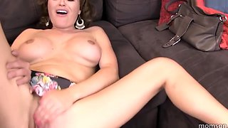 son miss school bus to fuck mommy