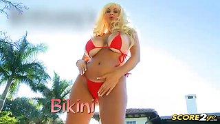 Brittany\'s Bikini Bustout