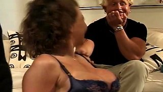 Cuckold Husband Not Too Happy When Having Sex With Other